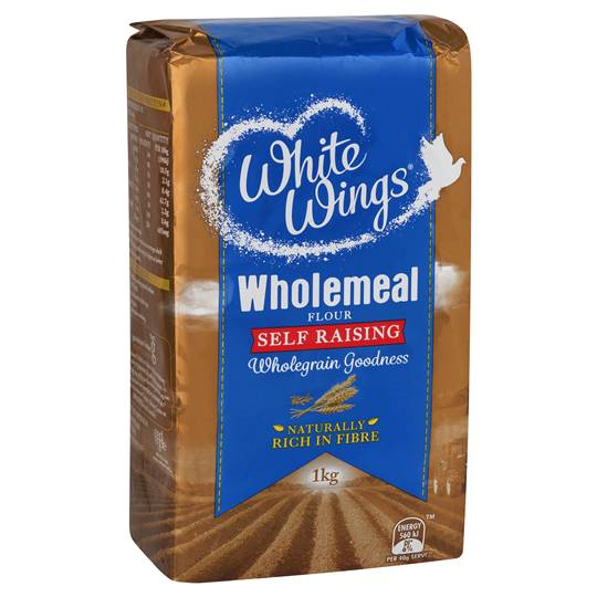White Wings Self Raising Flour Wholemeal