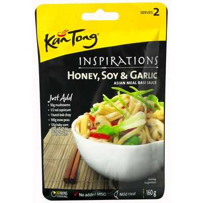 Kan Tong Inspirations Stir Fry Sauce Honey Soy & Garlic