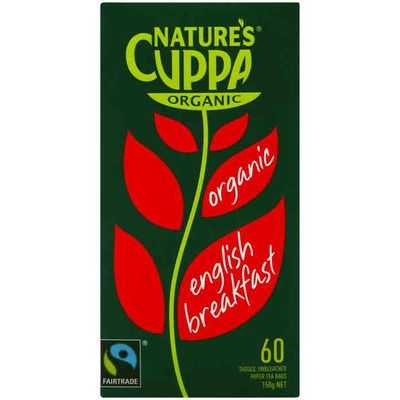 Nature's Cuppa English Breakfast Tea Bags