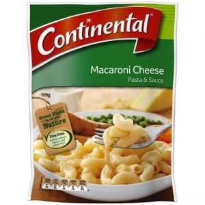 Continental Pasta & Sauce Macaroni Cheese