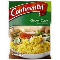 Continental Pasta & Sauce Chicken Curry
