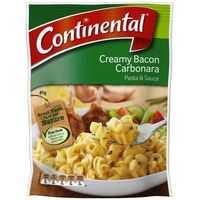 Continental Pasta & Sauce Creamy Bacon Carbonara