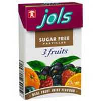Jols Sugar Free Pastilles Three Fruits