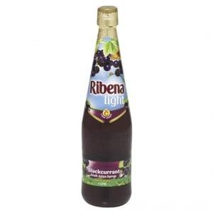 Ribena Light Blackcurrant Cordial Syrup
