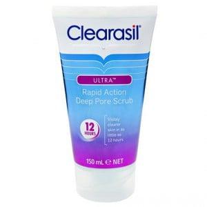 Clearasil Ultra Facial Scrub Deep Pore