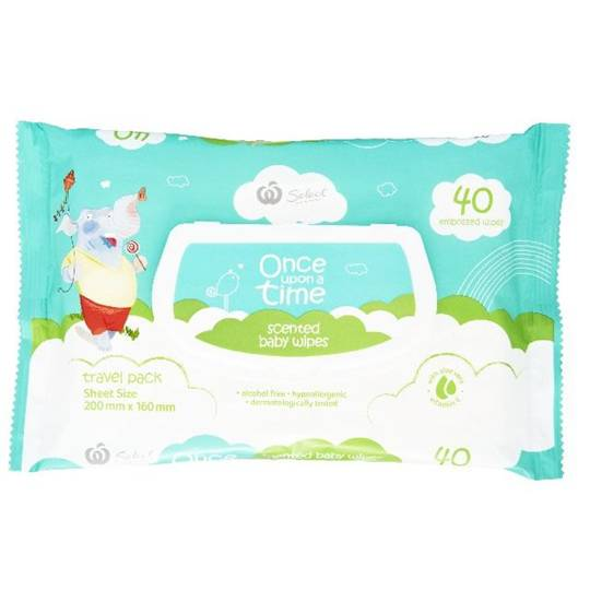 Once Upon A Time Wipes Scented Travel