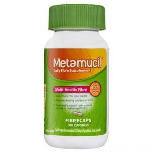 Metamucil Daily Fibre Supplement Caps