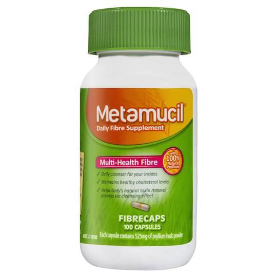 Metamucil Daily Fibre Supplement Caps
