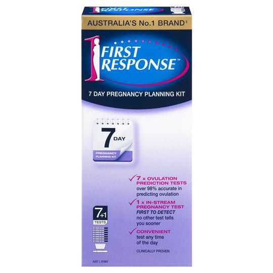 First Response Pregnancy Test 7 Day Planning Kit
