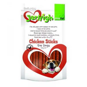 Vitapet Jerhigh Treat Real Chicken Strips