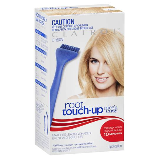 Clairol Nice N Easy Root Touch-up 8 Medium Blonde