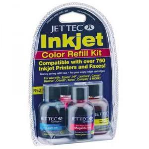 Jet Tec Inkjet Pen Refill Colour