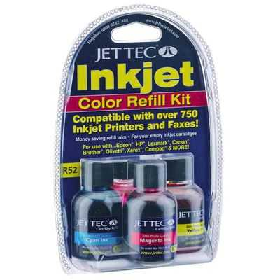 Jet Tec Inkjet Pen Refill Colour