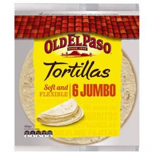 Old El Paso Tortillas Jumbo