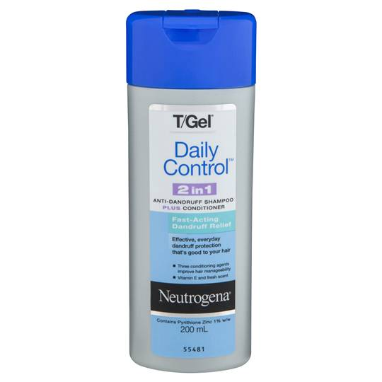 Neutrogena T Gel Anti Dandruff Shampoo & Cond Daily Control