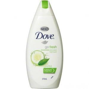 Dove Fresh Touch Body Wash Cucumber & Green Tea