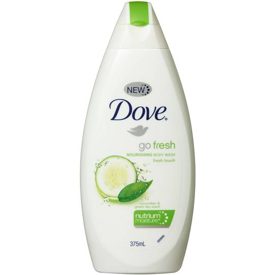 Dove Fresh Touch Body Wash Cucumber & Green Tea