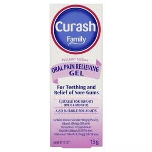 Curash Pain Relief Oral Gel