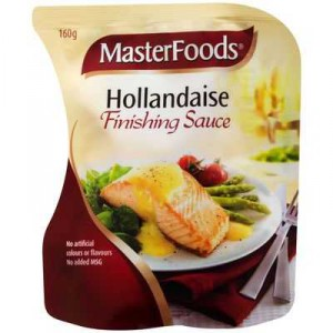 Masterfoods Finishing Sauce Hollandaise