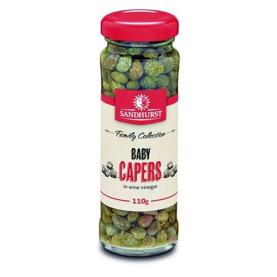 Sandhurst Baby Capers In Wine Vinegar