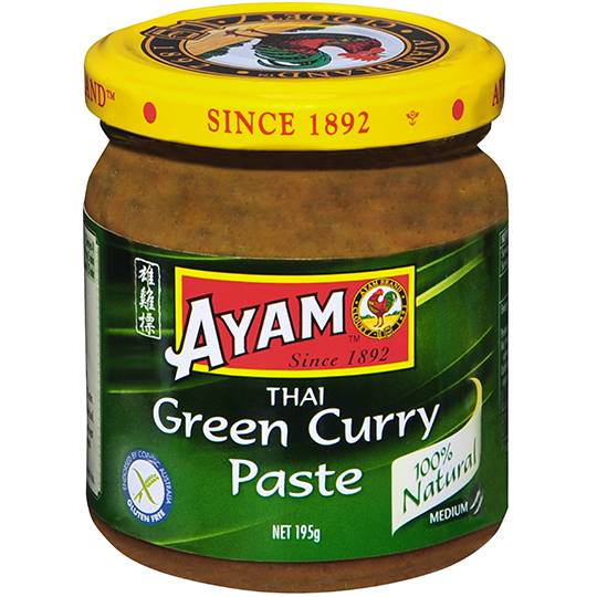 Ayam Paste Thai Green Curry