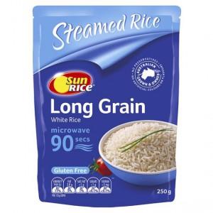 Sunrice Microwave Long Grain In 90 Seconds