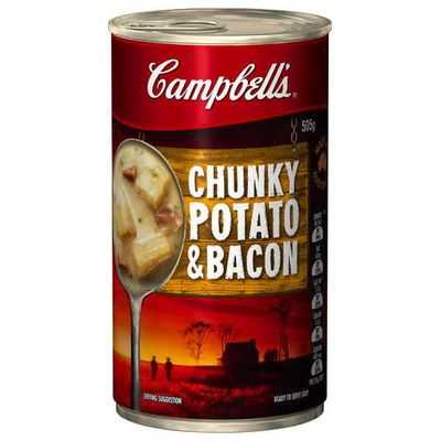 Campbell's Chunky Canned Soup Potato & Bacon