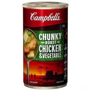 Campbell's Chunky Canned Soup Roast Chicken & Vegetable