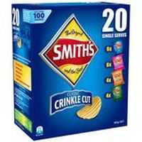 Smith's Chips Multipack Crinkle Cut Variety