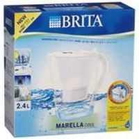 Brita Water Filter Jug Marella Cool White 2.4l