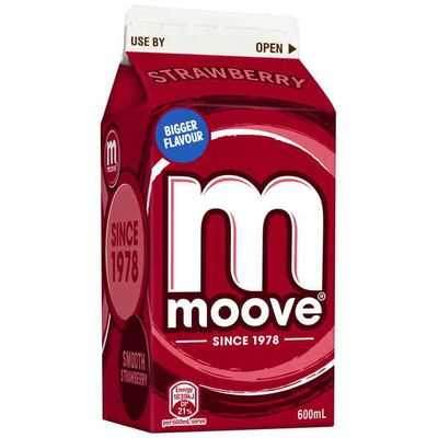 mom81879 reviewed Moove Flavoured Milk Strawberry