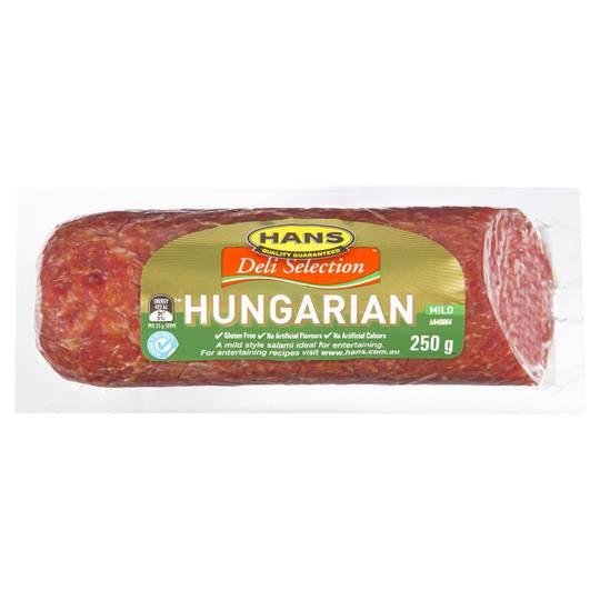 Hans Salami Hungarian