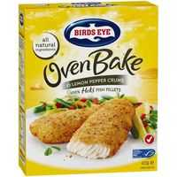 Birds Eye Oven Bake Crumbed Lemon Pepper