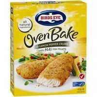 Birds Eye Oven Bake Crumbed Lemon Pepper