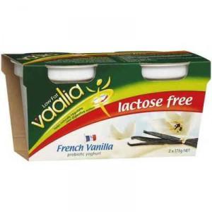 Vaalia Lactose Free Vanilla Yoghurt