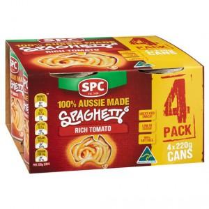 Spc Spaghetti Rich Tomato Sauce