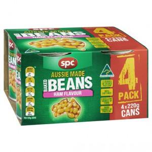 Spc Baked Beans Ham Sauce