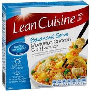 Lean Cuisine Balanced Serve Malaysian Chicken Curry Rice