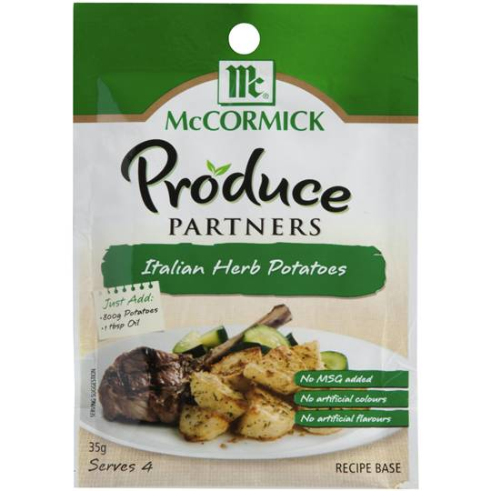 Mccormick Produce Partners Italian Herb Potatoes