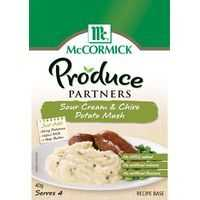 Mccormick Produce Partners Sour Cream Chive Potato Mash Seasoning