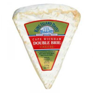 King Island Double Brie Cheese