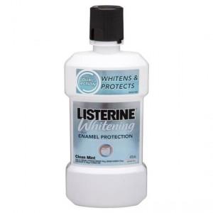 Listerine Whitening Plus Mouthwash Enamel Protection