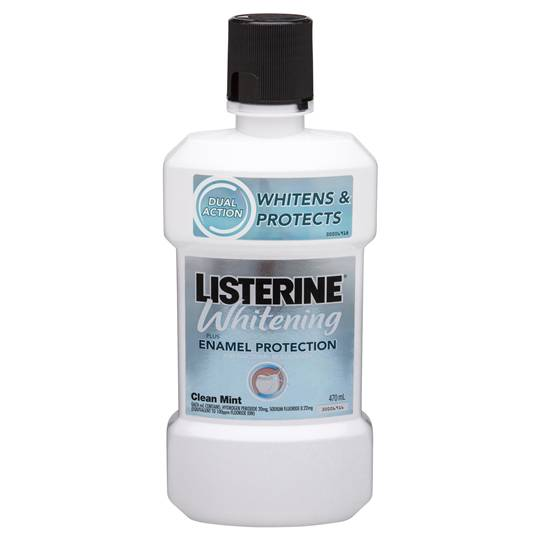 Listerine Whitening Plus Mouthwash Enamel Protection