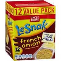 Uncle Tobys Le Snak French Onion Dip