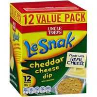 Uncle Tobys Le Snak Cheddar Cheese Dip