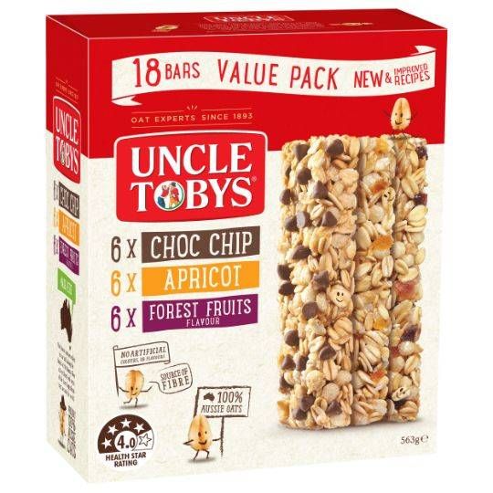 Uncle Tobys Chewy Variety