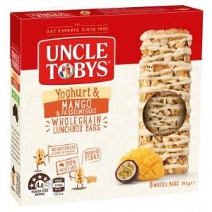 Uncle Tobys Yoghurt Topps Mango & Passionfruit