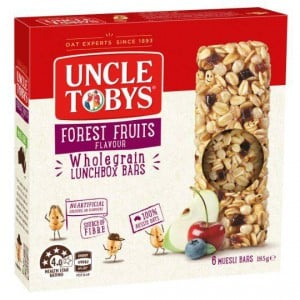 Uncle Tobys Chewy Forest Fruits Bars