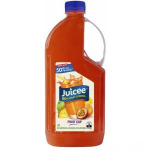 Juicee 90% Fruit Cordial Fruit Cup