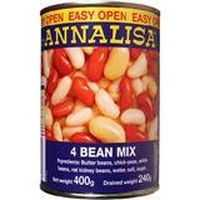 Annalisa Beans Four Mix